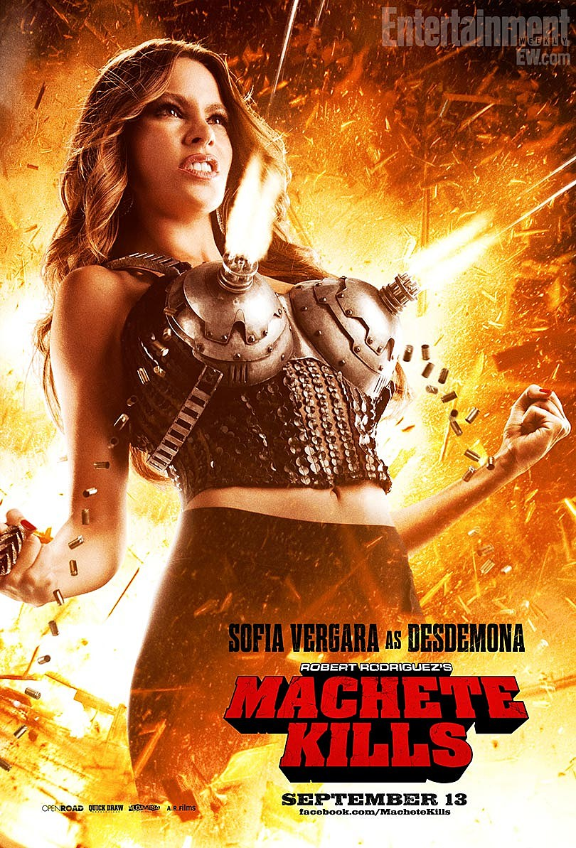 Machete Kills Poster Sofia Vergara