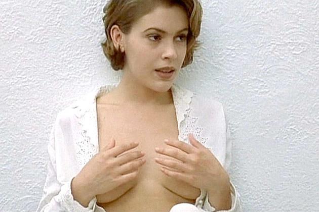 Video clip de sexo de Alyssa milano