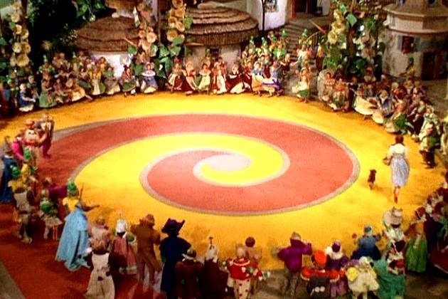 Wizard of Oz TV Series Red Brick Road
