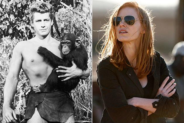 Tarzan Jessica Chastain