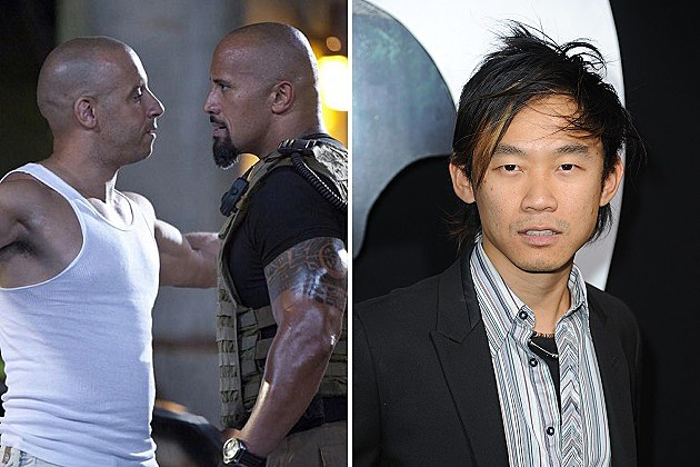 Vin Diesel, Dwayne Johnson, James Wan