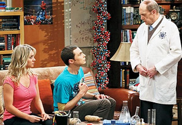 The Big Bang Theory Bob Newhart Professor Proton