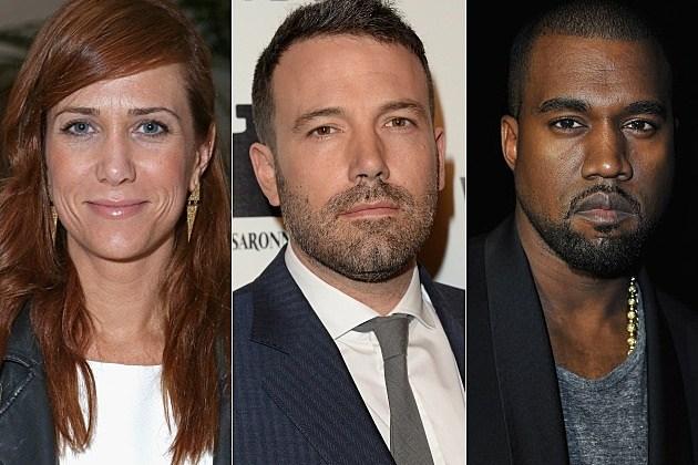 SNL Kristen Wiig Ben Affleck Kanye West