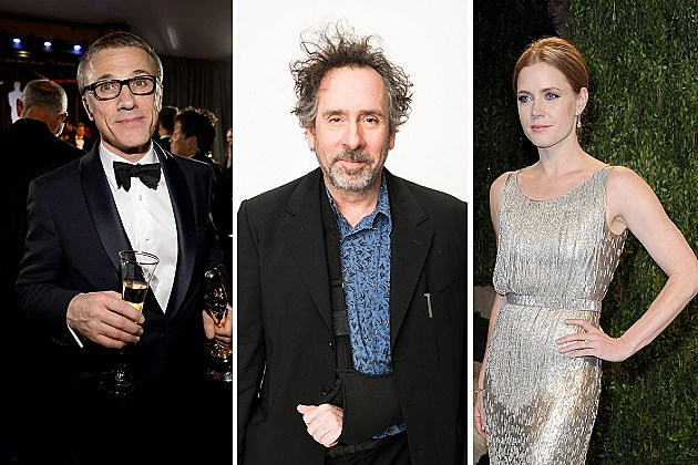 Christoph Waltz, Tim Burton, Amy Adams
