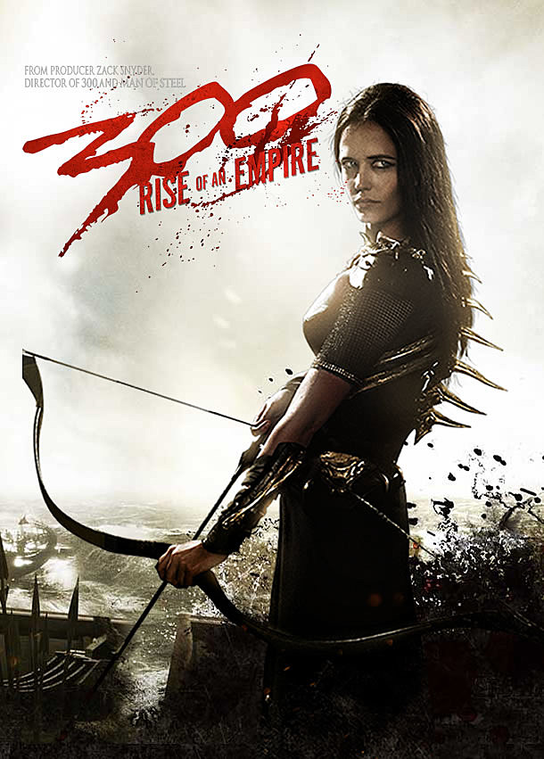 '300: Rise of an Empire' Posters: Eva Green is Soaking Wet