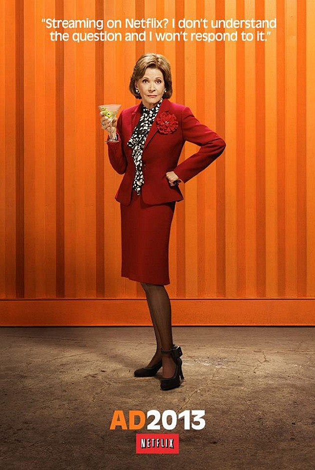 Arrested Development Season 4 Poster Lucille