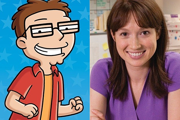 The Office Ellie Kemper American Dad