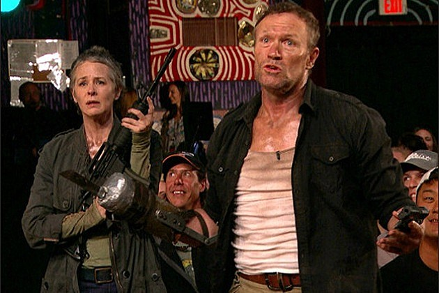 The Walking Dead Conan O Brien Merle