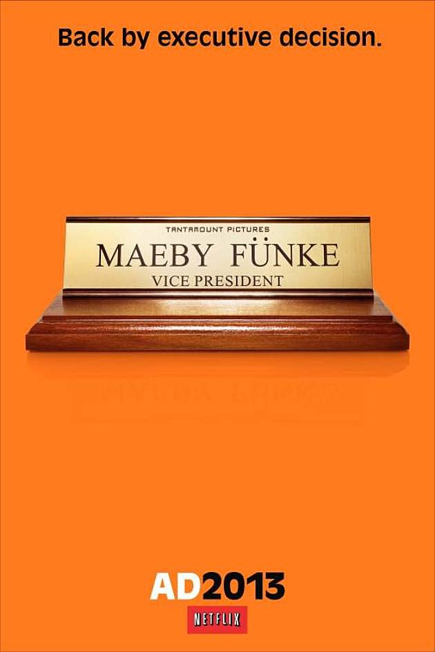 Arrested Development Season 4 Poster Maeby