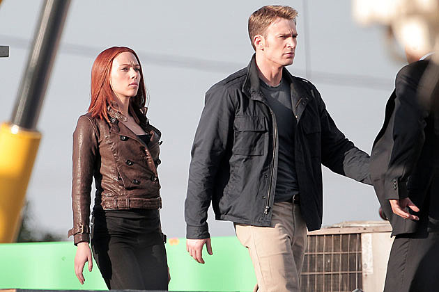 Captain America 2 Set Pics