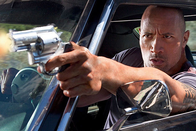 Fast and Furious 7 The Rock