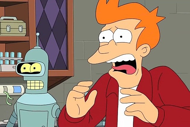 Futurama Cancelled Comedy Central