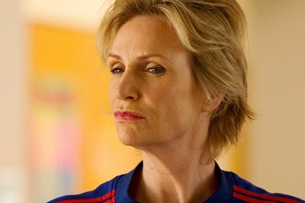 Glee Shooting Star Jane Lynch Season 5