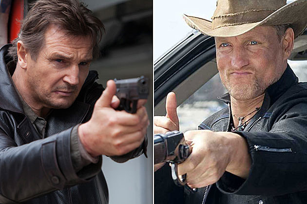 Highwaymen Liam Neeson Woody Harrelson