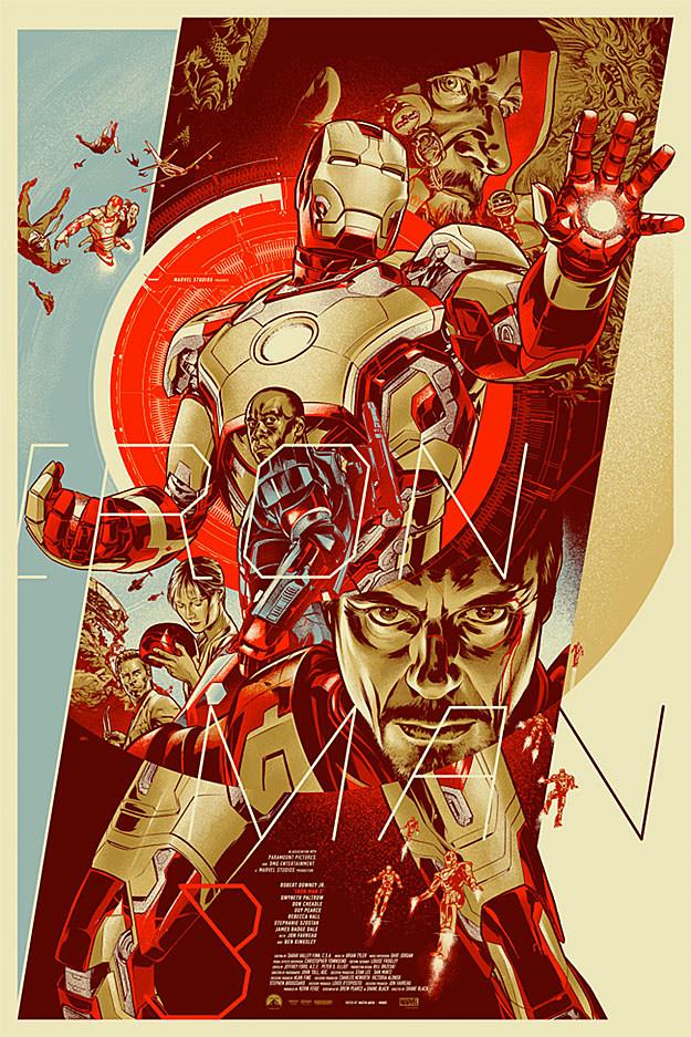 Iron Man 3 Mondo Posters