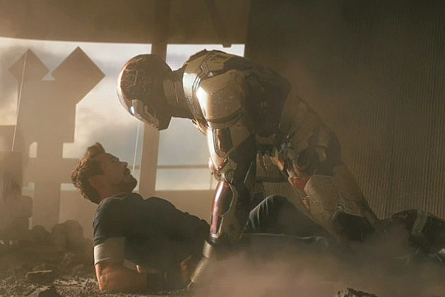 Iron Man 3 Footage