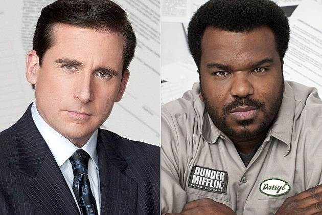 The Office Series Finale Steve Carell Craig Robinson
