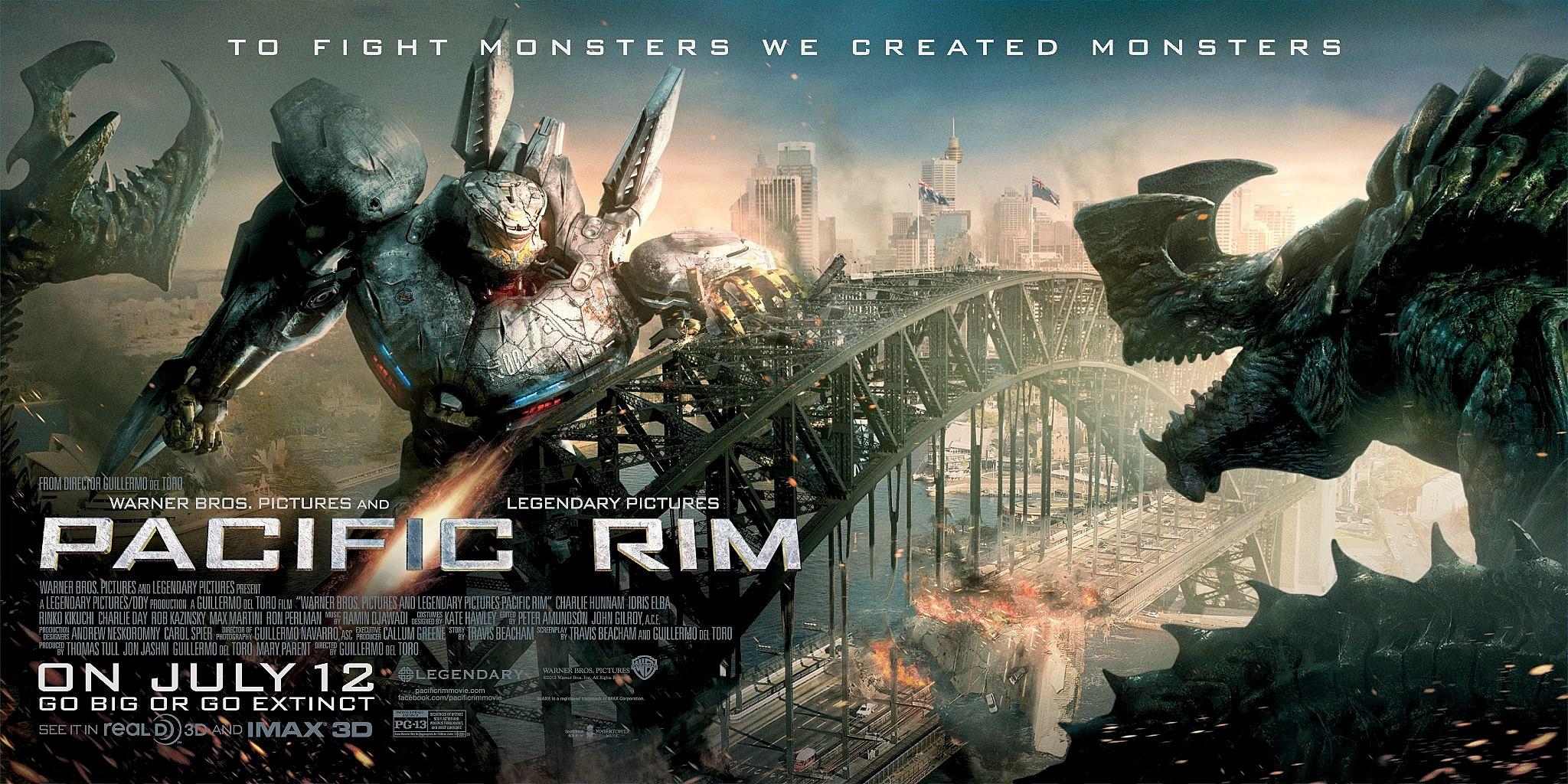 Pacific Rim Kaiju Poster 'Pacific Rim' Post...