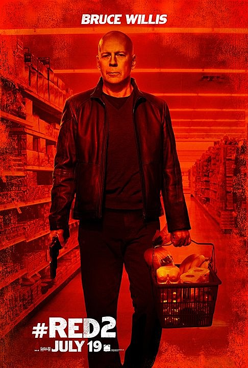 Red 2 Poster Bruce Willis