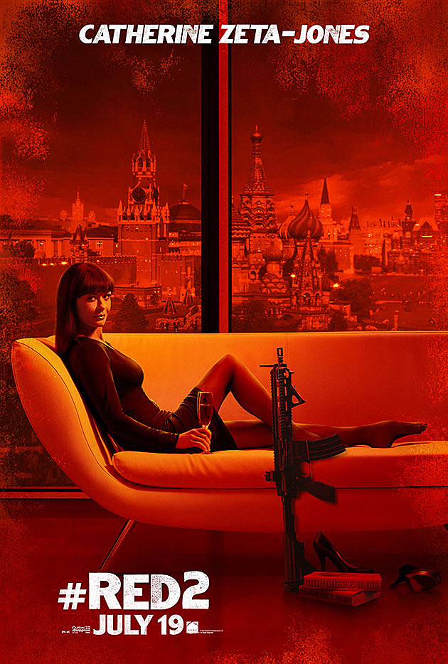 Red 2 Poster Catherine Zeta-Jones
