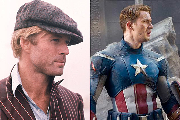 Robert Redford Captain America