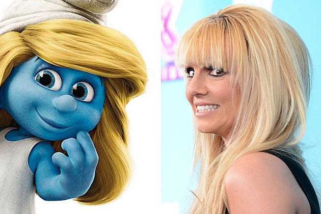 Smurfs 2 Britney Spears