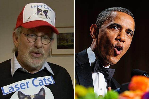 Steven Spielberg Obama