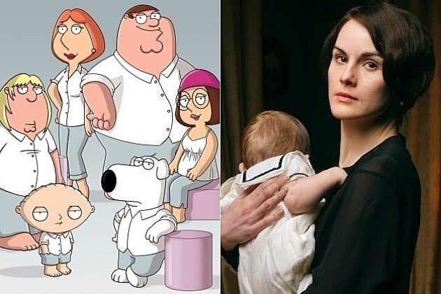 Family Guy Downton Abbey Michelle Dockery
