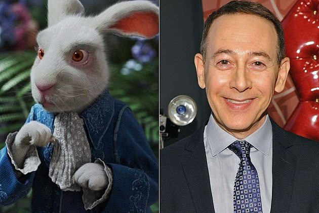 Once Upon A Time in Wonderland Paul Reubens White Rabbit