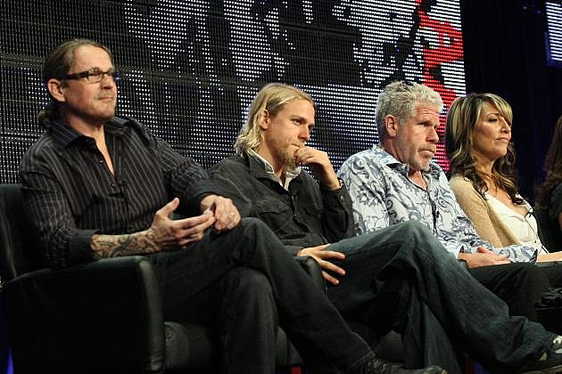 Sons of Anarchy Season 6 Talk Show Talking Dead