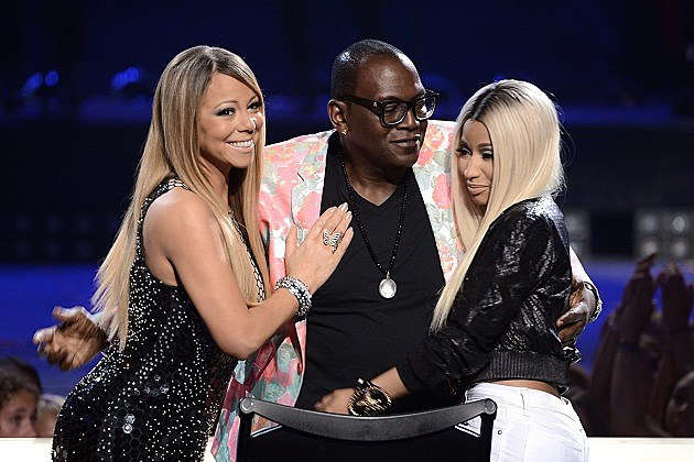 Mariah Carey, Randy Jackson, Nicki Minaj