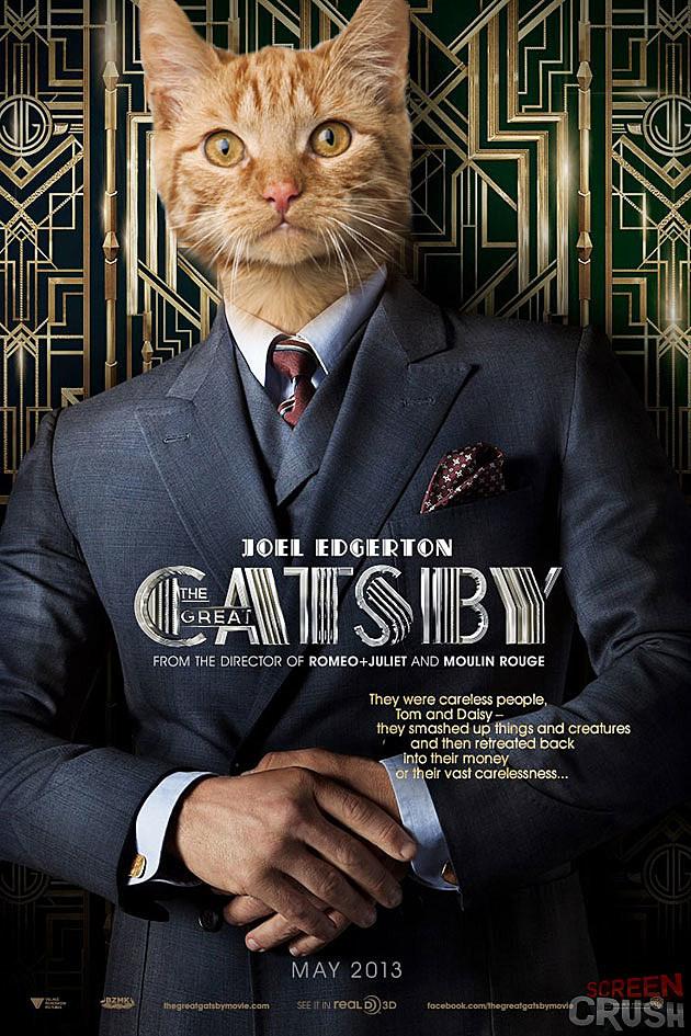 u0026 39 the great gatsby u0026 39  plus cats equals  u0026 39 the great catsby u0026 39