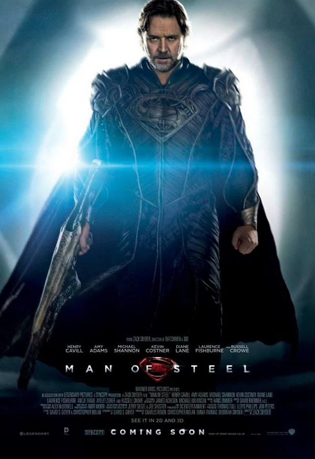 Man of Steel poster Jor-El