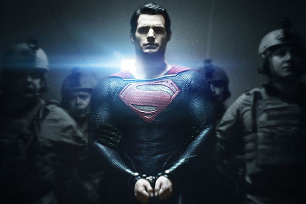 New 'Man of Steel' Banner Lets Superman Stand Tall