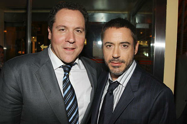Robert Downey Jr and Jon Favreau