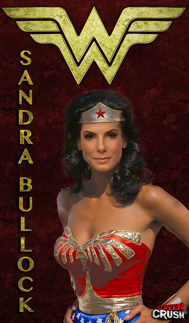 Sandra Bullock Wonder Woman