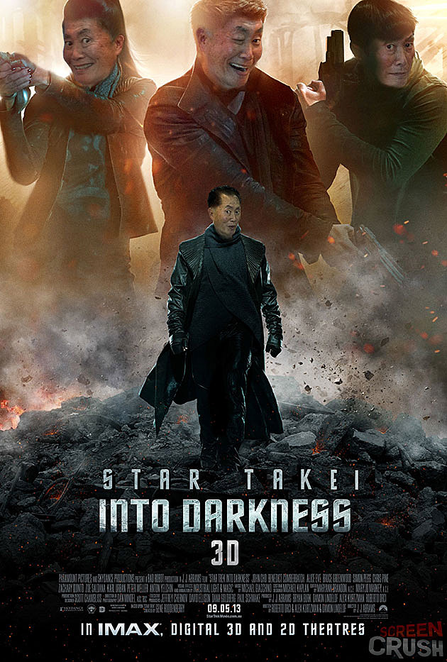 Star Takei Into Darkness poster