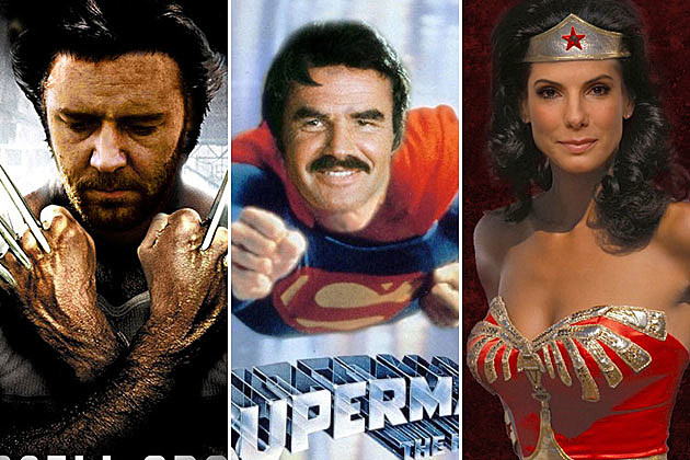 Superhero Movies That Almost Happened