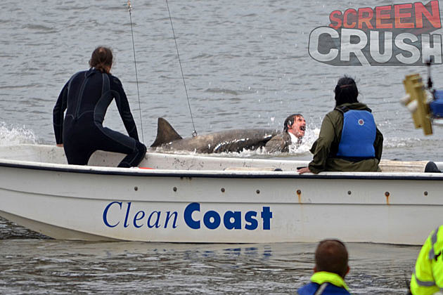 Anchorman 2 Pics Shark