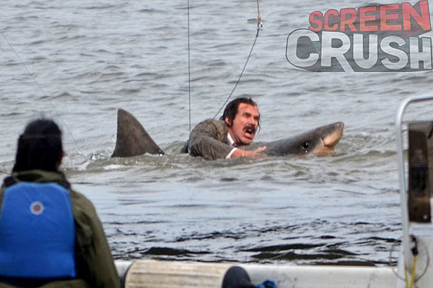 Anchorman 2 Shark Ron Burgundy