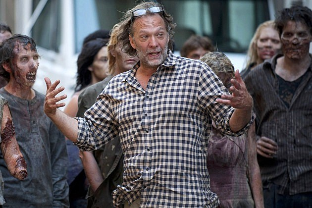 The Walking Dead Season 4 Greg Nicotero Zombie School