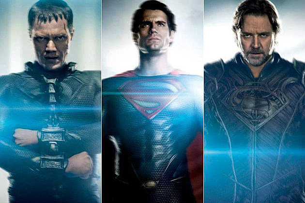 Man of Steel Posters Zod Superman Jor-El