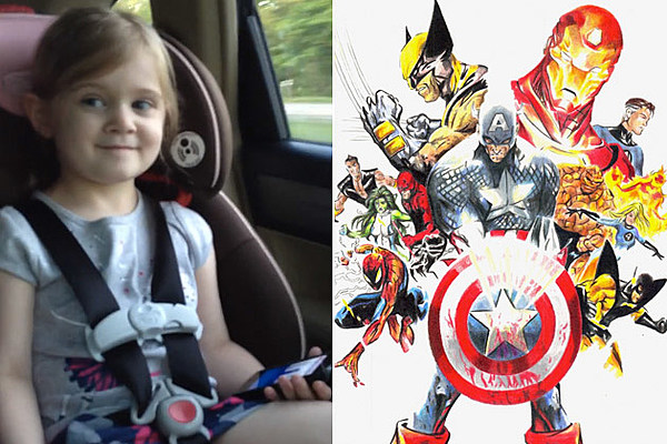 This 4-Year-Old Girl Knows More About Marvel Superheroes Than You Do