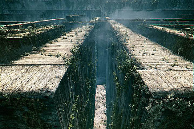 Maze Runner concept art