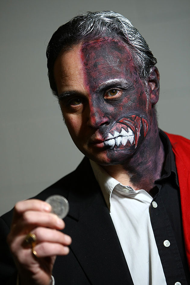 Two-Face cosplay