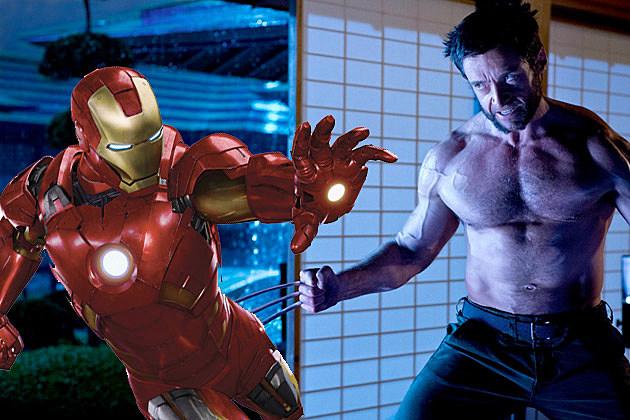 Iron Man Wolverine Avengers