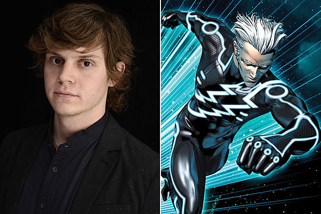 Men Days of Future Past Evan PetersX Men Quicksilver Days Of Future Past