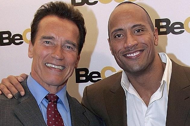 Could Dwayne 'The Rock' Johnson Battle Arnold Schwarzenegger in ...