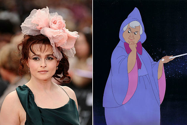 Helena Bonham Carter Cinderella