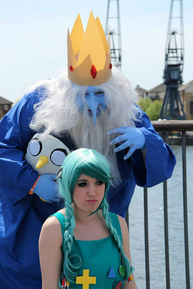 Adventure Time Ice King cosplay